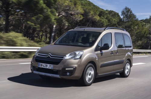 Facelift des Citroen Berlingo