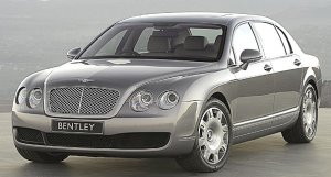 Foto Bentley Continental der vierten Generation