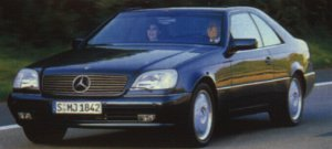 Mercedes-Benz SEC / CL (1992-1999)