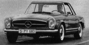 Mercedes-Benz SL (1963-1971)