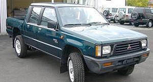 mitsubishi l200 (1989-1996): motoren, varianten, news und fotos