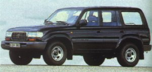 Toyota Land Cruiser Station (1990-1998)